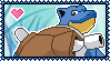 009 Blastoise Stamp by Kevfin