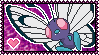 012 Butterfree Stamp by Kevfin
