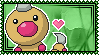 013 Weedle Stamp