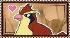 016 Pidgey Stamp