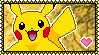 025 Pikachu Stamp by Kevfin