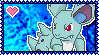 030 Nidorina Stamp by Kevfin