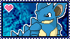 031 Nidoqueen Stamp by Kevfin