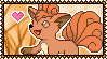 037 Vulpix Stamp by Kevfin