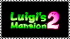 Luigi's Mansion 2 Stamp by Kevfin