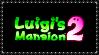 Luigi's Mansion 2 Stamp by Kevfin