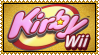 Kirby Wii Stamp by Kevfin