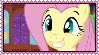 Fluttershy Happy Stamp by Kevfin