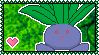 043 Oddish Stamp by Kevfin