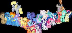 MLP Pony Series Sprites