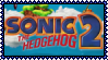 Sonic the Hedgehog 2 Stamp by Kevfin
