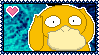 PokeStamps 54 : Psyduck by Kevfin