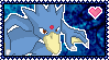 PokeStamps 55 : Golduck by Kevfin