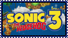 Sonic the Hedgehog 3 Stamp by Kevfin