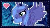 MLP Princess Luna Stamp