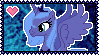 MLP Princess Luna Stamp by Kevfin