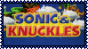 Sonic And Knuckles Stamp by Kevfin