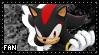 Shadow the hedgehog Stamp