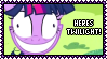 Here Comes Twilight Stamp by Kevfin