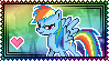 MLP Rainbow Dash Stamp 3