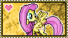 MLP Fluttershy Stamp 2 by Kevfin
