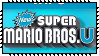 New Super Mario Bros U Stamp by Kevfin