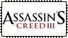 Assassins Creed III 3 Stamp by Kevfin