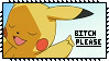 Pokemon Stamp : Pikachu B-tch Please by Kevfin