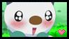 Pokemon Stamp : Oshawott Cute Face by Kevfin