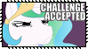Random Stamps : Challenge Accepted Celestia