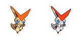 Victini Sprite by Kevfin