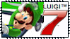 Mario Kart 7 Series Stamps : Luigi by Kevfin