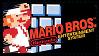 Super Mario Series Stamps : Super Mario Bros NES