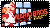 Super Mario Series Stamps : Super Mario Bros NES by Kevfin