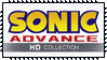 Sonic Advance HD Collection Stamp by Kevfin