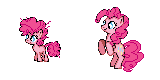 Pinkie Pie - Past and Present Sprite by Kevfin