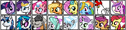 My Little Pony Pixel Project Overload Preview