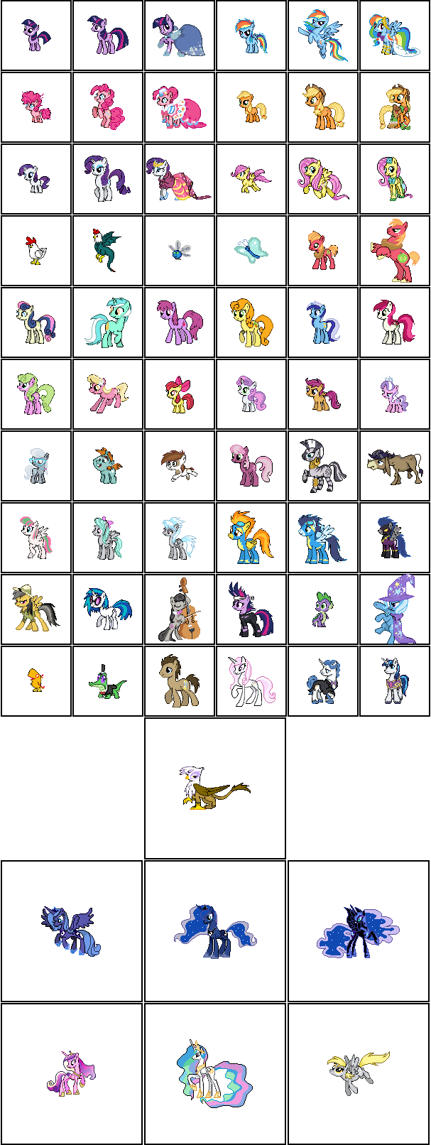 My Little Pony Series Version 2 by Kevfin