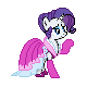 MLP Rarity Dress Sprite by Kevfin