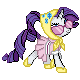 MLP Campfire Rarity Sprite by Kevfin