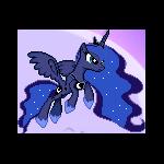 MLP Princess Luna Sprite 2 by Kevfin
