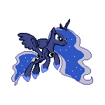 MLP Princess Luna Sprite 2 by Kevfin