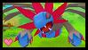 Pokemon Mystery Dungeon GTI : Hydreigon Stamp by Kevfin
