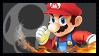 Super Smash Bros Wii U Stamp Series - Mario by Kevfin