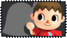 Super Smash Bros Wii U Stamp Series - Villager by Kevfin