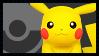Super Smash Bros Wii U Stamp Series - Pikachu by Kevfin