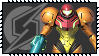 Super Smash Bros Wii U Stamp Series - Samus Aran by Kevfin