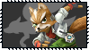 Super Smash Bros Wii U Stamp Series - Fox McCloud by Kevfin