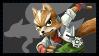 Super Smash Bros Wii U Stamp Series - Fox McCloud by Kevfin