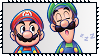 Mario And Luigi Dream Team Stamp by Kevfin